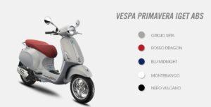 Új Vespa IGET termékcsalád