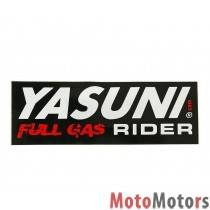 Matrica Yasuni Full Gas Rider 110x38mm