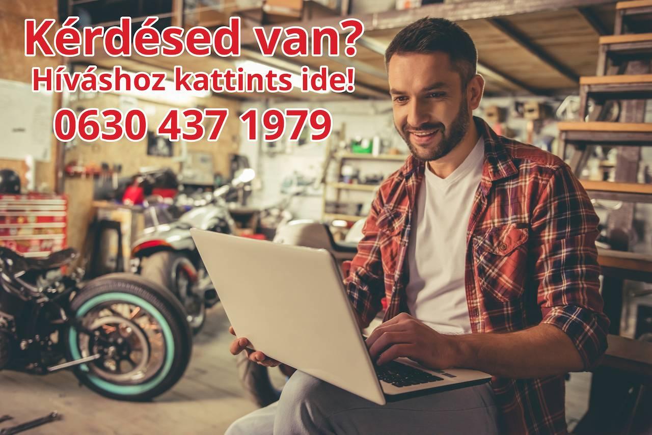 Kérdésed van? Hívj! 06304371979